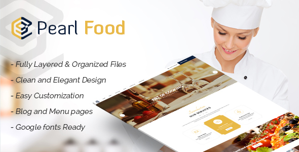 Pear - Hotel & Resturant Template            TFx