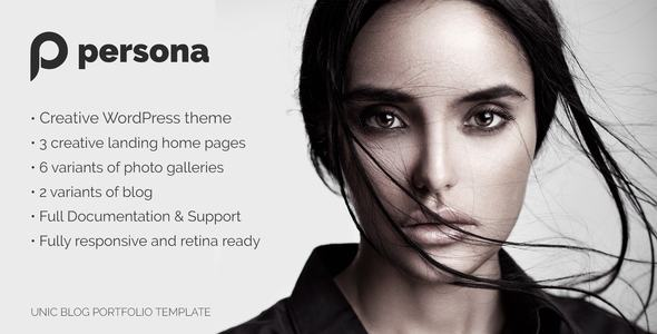 Persona | WordPress Photography, Portfolio and Blog Theme            TFx