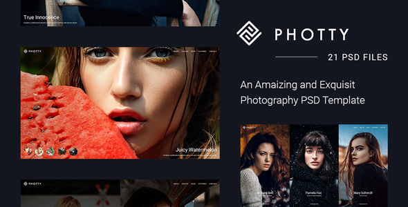 Photty – Photo Gallery and Photoblog Template            TFx