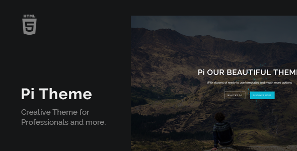 PiTheme - Creative Responsive One Page            TFx