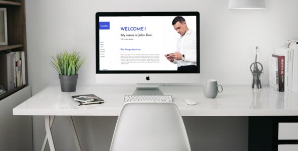 Portfolio / Resume - HTML Template            TFx