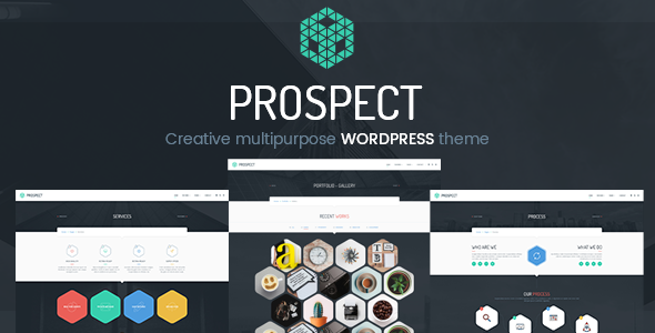 Prospect - Creative Multipurpose WordPress Theme            TFx