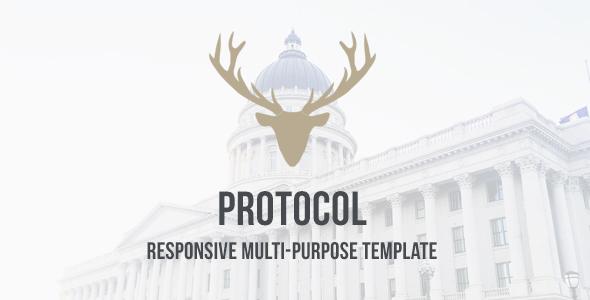 Protocol - HTML Responsive Multi-Purpose Template            TFx