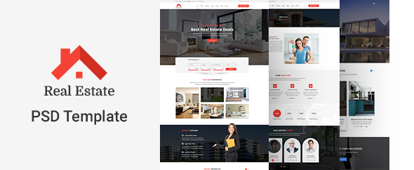 Real Estate PSD Template            TFx