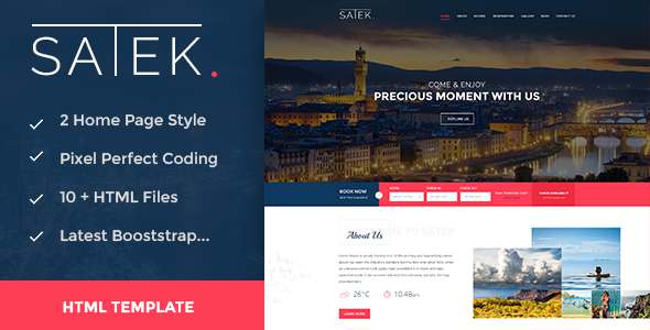 Satek : Resort and Hotel HTML Template            TFx