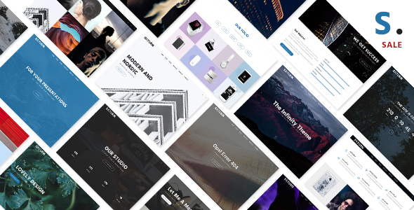 Saturn - Multiuse and Accurate WordPress Theme            TFx
