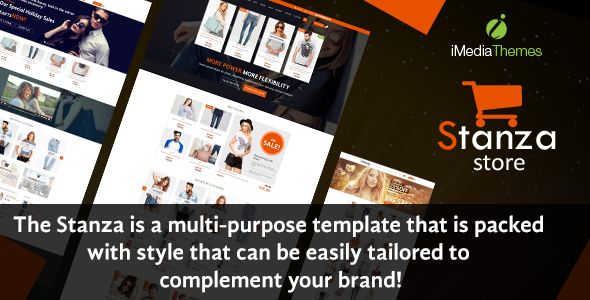 Stanza Store – Responsive eCommerce HTML 5 Template            TFx