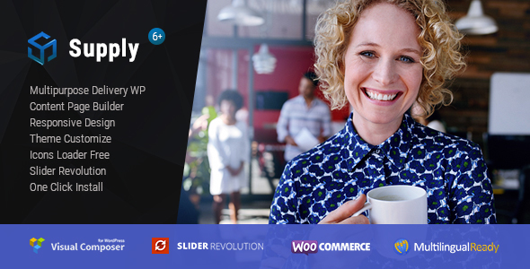 Supply - Water & Coffee delivery WordPress Theme            TFx