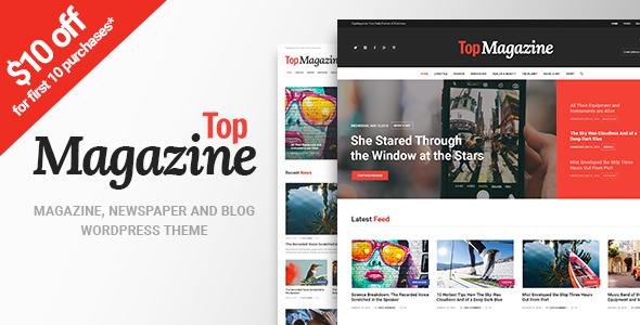 Top Magazine - News, Blog & Magazine WordPress Theme            TFx