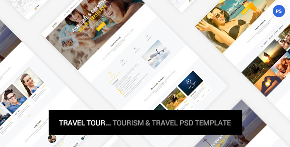 Travel Tour - tourism & travel PSD Template            TFx