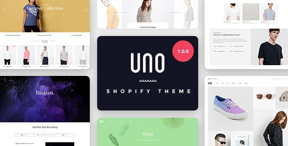 UNO - Multi Store Responsive Shopify Theme            TFx