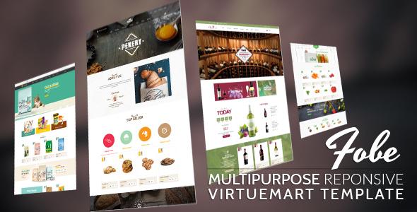 Vina Fobe - Multipurpose Responsive VirtueMart Template            TFx