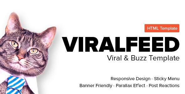 ViralFeed - Viral & Buzz Template            TFx