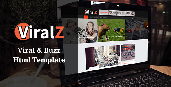 Viralz - Viral & Buzz Html Template            TFx