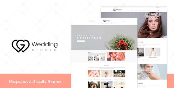 Wedding - Responsive Shopify Theme            TFx