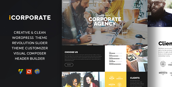 iCorporate - Multipurpose Creative  Corporate            TFx