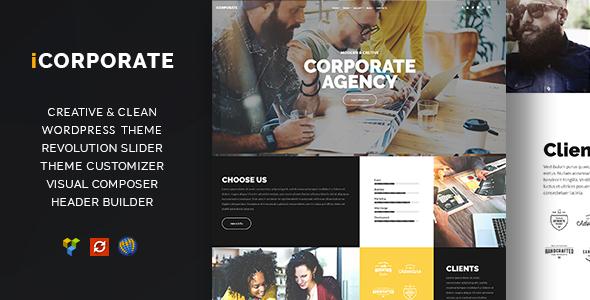 iCorporate - Multipurpose Creative  Corporate            TFx