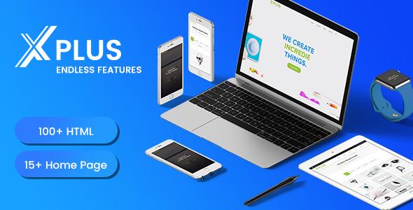 xPlus - Multipurpose Responsive Business Template            TFx