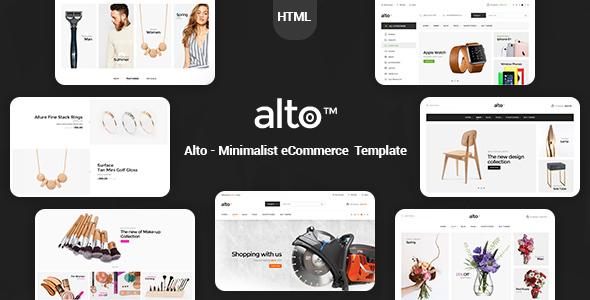 Alto - Minimalist eCommerce Template            TFx