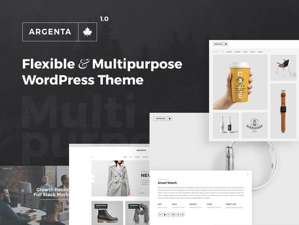 Argenta - Multipurpose WordPress Theme            TFx