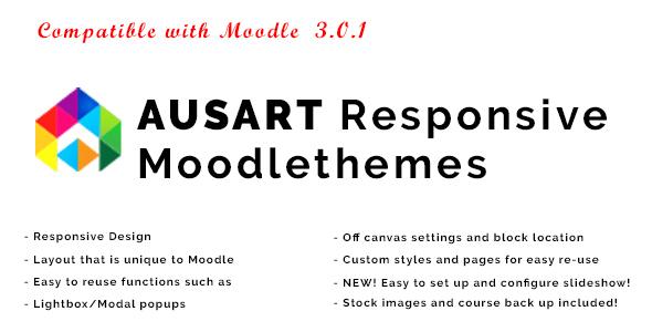 Ausart - Responsive Moodle Theme            TFx