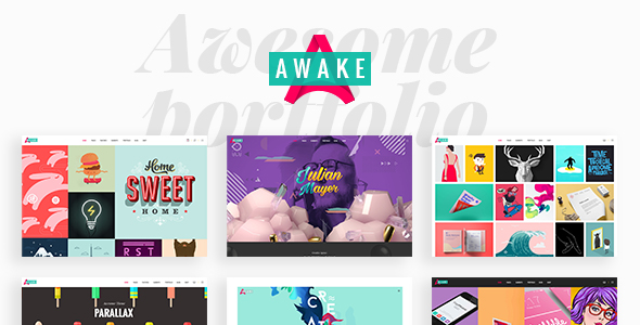 Awake – A Vibrant and Fresh Portfolio Theme            TFx