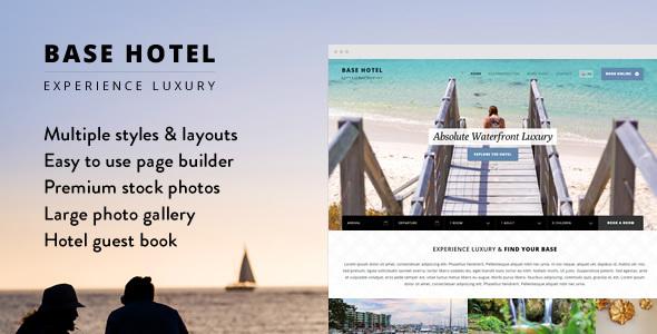Base Hotel - WordPress Theme            TFx