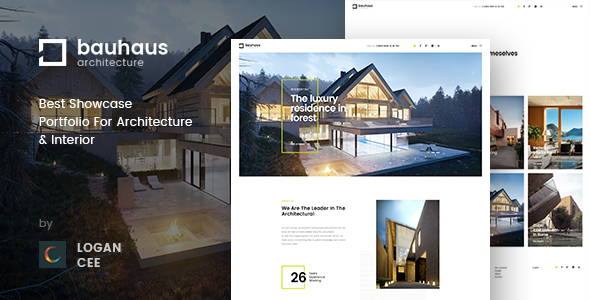 Bauhaus | Architecture & Interior PSD Template            TFx