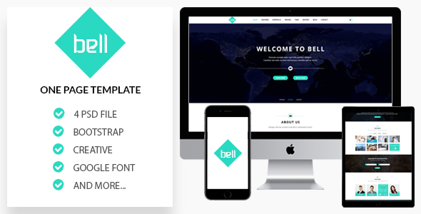 Bell - Onepage PSD Template            TFx