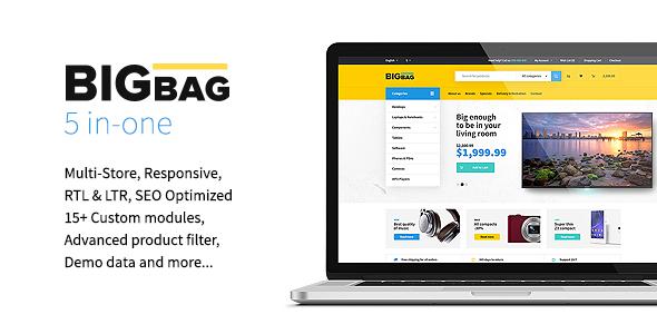 BigBag – Premium OpenCart Theme            TFx