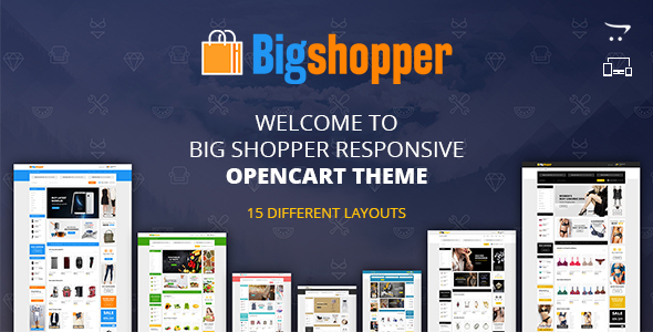 BigShopper - Multipurpose OpenCart Theme            TFx