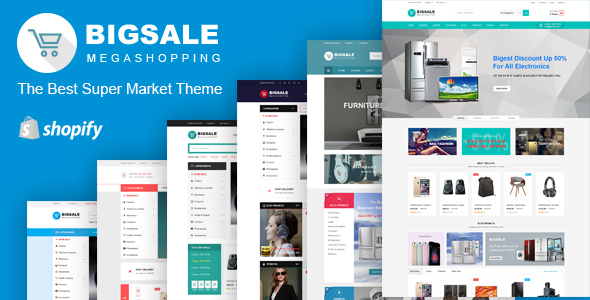 Bigsale – Responsive Ecommerce Shopify Template            TFx