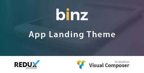 Binz App Landing Theme            TFx