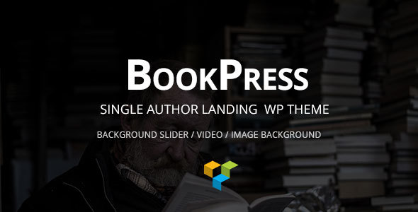 BookPress Single Author WP Landing Theme            TFx