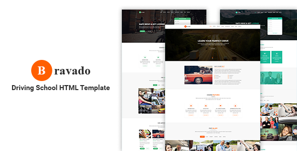 Bravado- Education Driving School Template            TFx