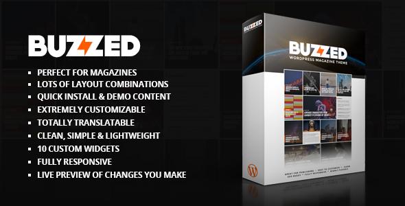 Buzzed Magazine Theme            TFx