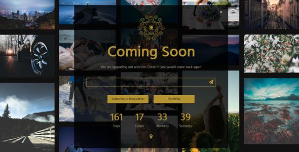 CAROL - Multipurpose Coming Soon Page            TFx