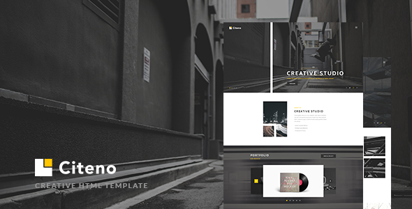 Citeno - Creative Multipurpose HTML5 Template            TFx
