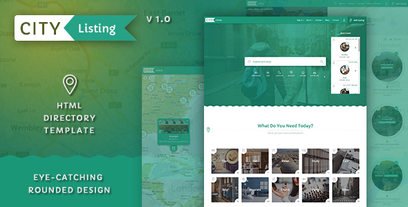 City Listing – Directory Template            TFx