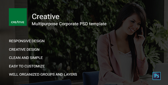 Creative - Multipurpose PSD Templates            TFx