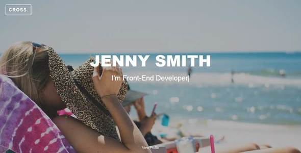 Cross -  Jenny Smith CV Portfolio            TFx