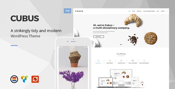 Cubus - Responsive Business WordPress Theme            TFx