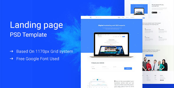 Digital Marketing Landing Page            TFx