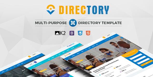 Directory - Responsive Ultimate Directory Joomla Template            TFx