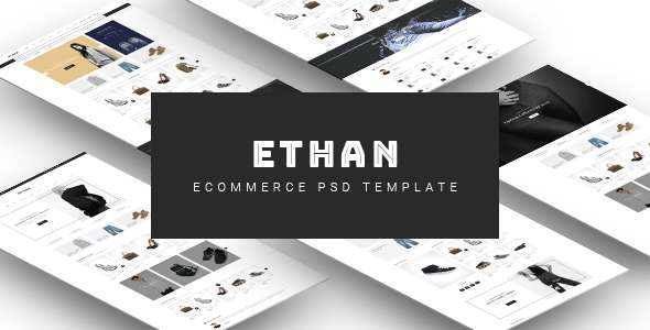 ETHAN - Ecommerce PSD Template            TFx