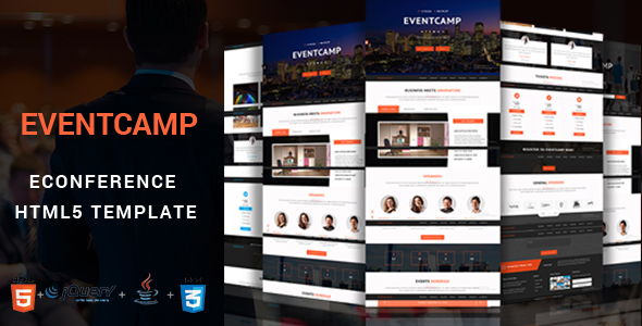 EventCamp – Event and Conference Template.            TFx
