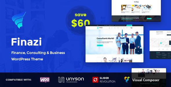 Finazi - Business & Finance WordPress Theme            TFx