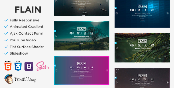 Flain - Coming Soon Template            TFx