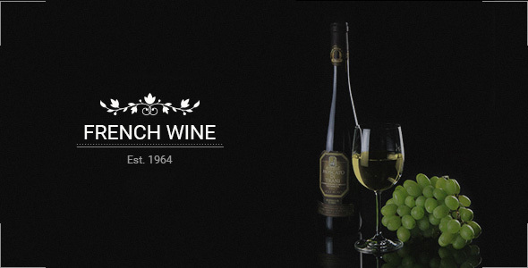 French Wine — HTML5 Store Template            TFx