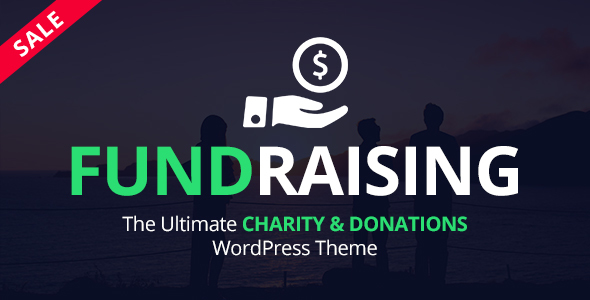 Fundraising - Ultimate Charity/Donations WordPress Theme            TFx